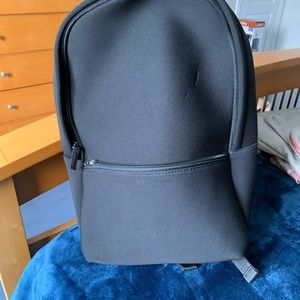 Black paco rabanne authentic backpack
